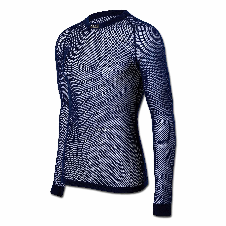 Brynje Shirt Long Sleeve blue