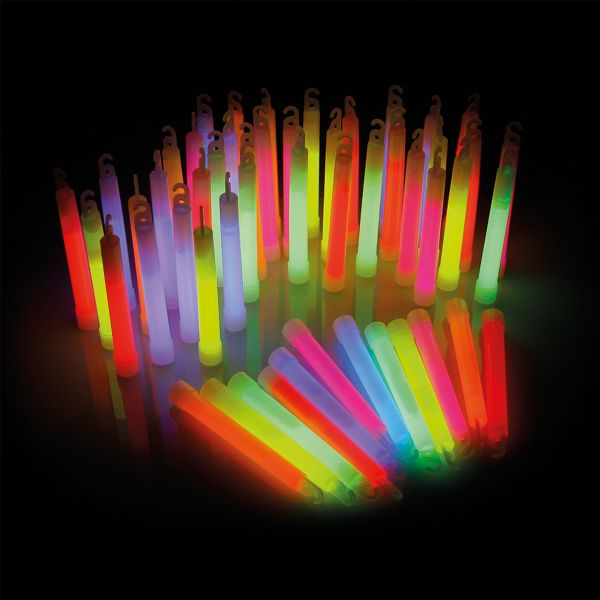 KNIXS Power Glow Sticks 6 Color Mix 25-Pack