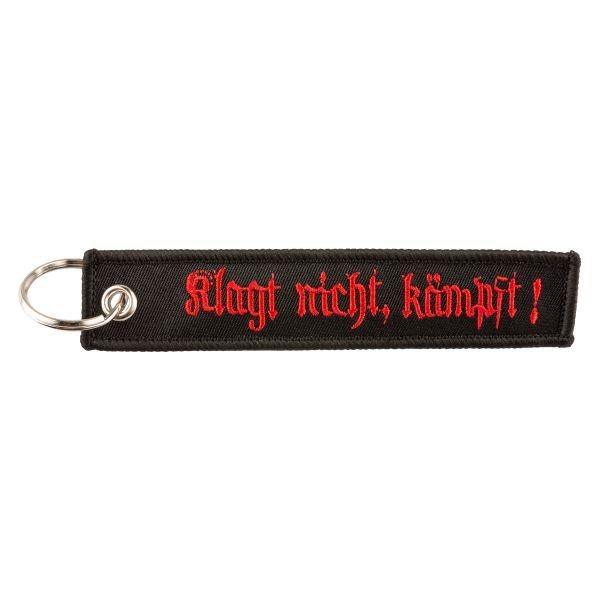 """Keyring """"KLAGT NICHT KÄMPFT"""""""