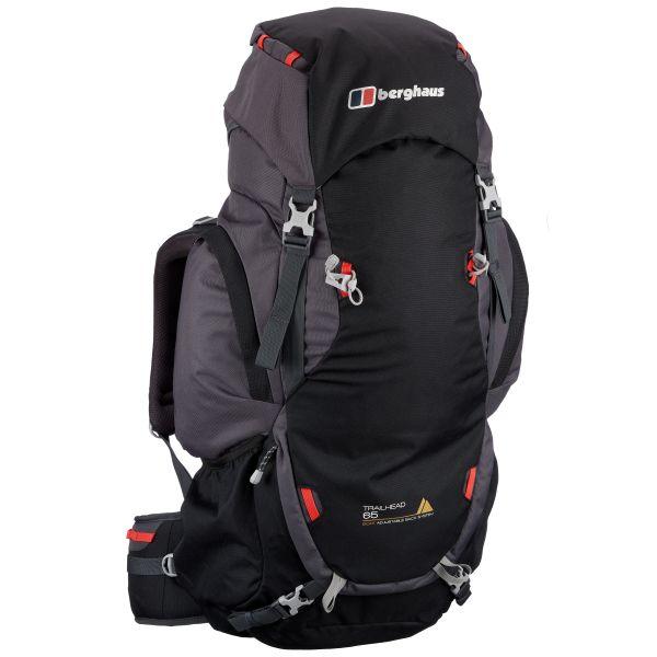Berghaus Backpack Trailhead 65 Bronze black/gray