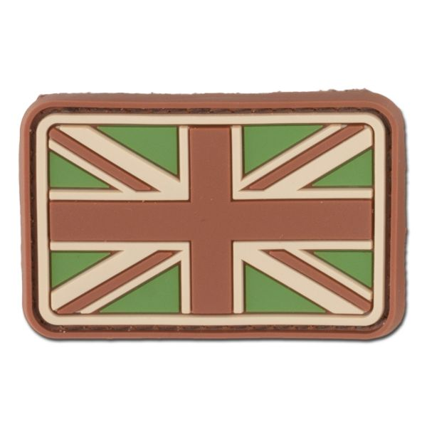 3D-Patch Great Britain Flag Small multicam