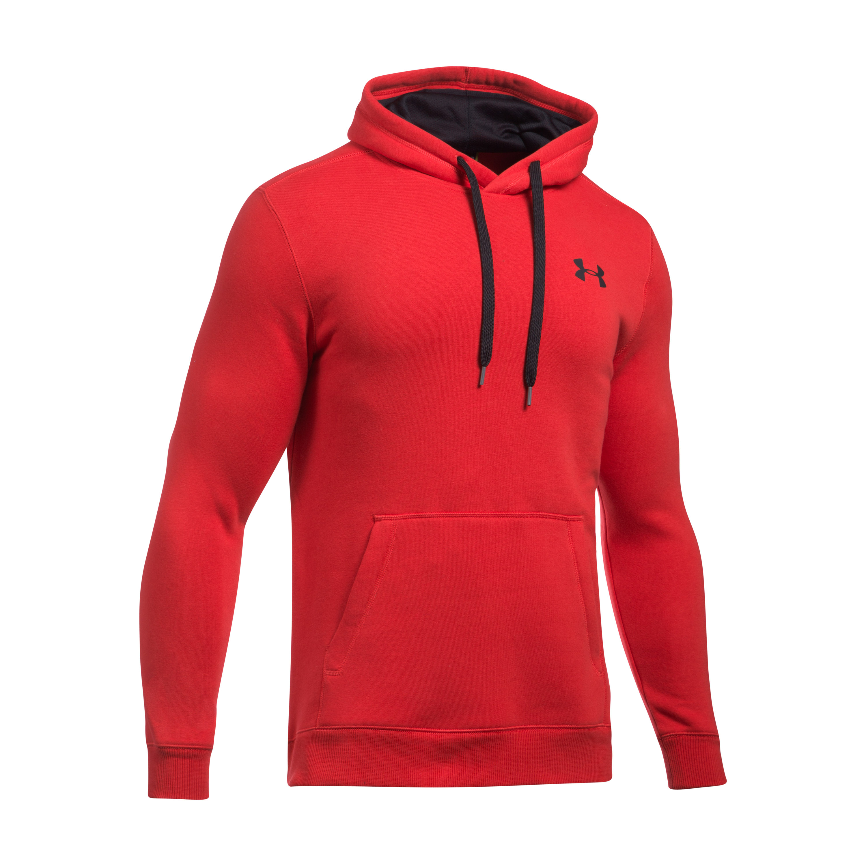 Under Armour Hoodie Rival Fitted red/black