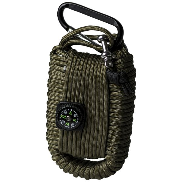 Paracord Survival Kit Large olive