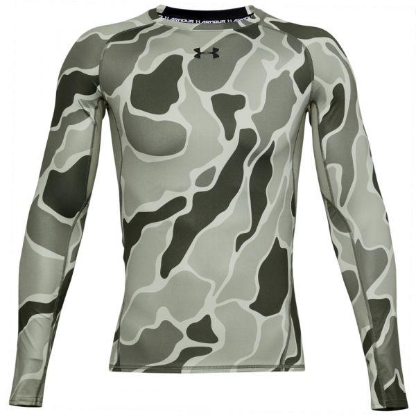 Under Armour Long Arm Shirtshirt HG Armour NOV gravity green