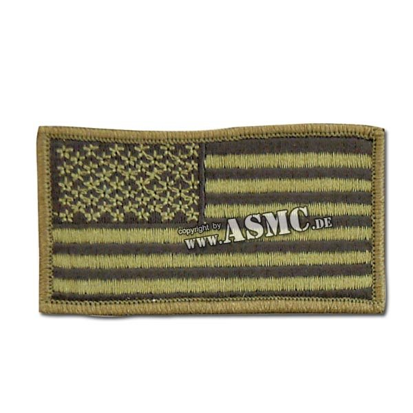 Patch U.S. Flag olive