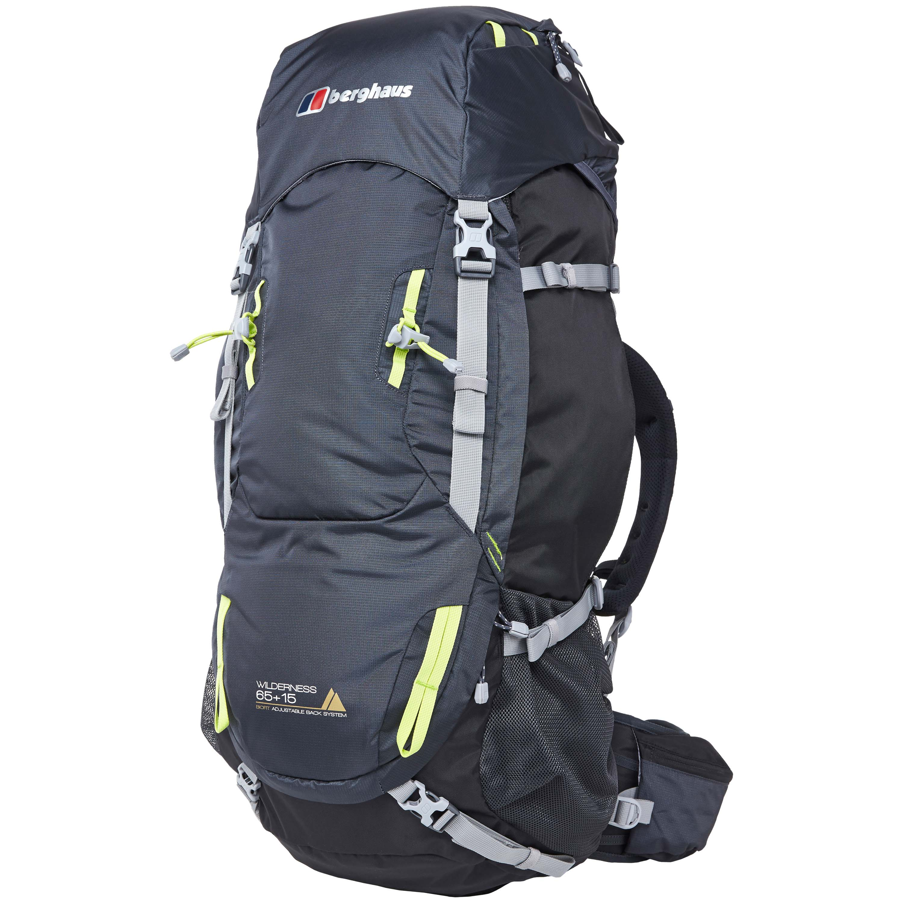 Berghaus Backpack Wilderness 65 + 15 carbon