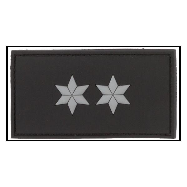 3D-Patch Rank Insignia Polizeioberkommissar black