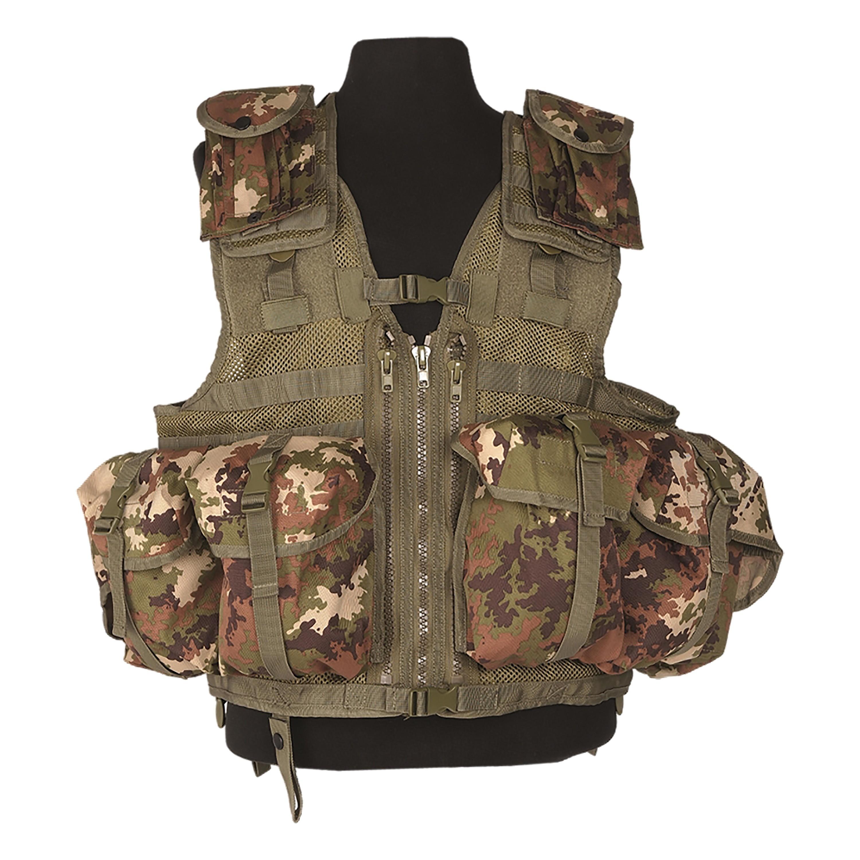 Tactical Vest Mil-Tec Modular vegetato