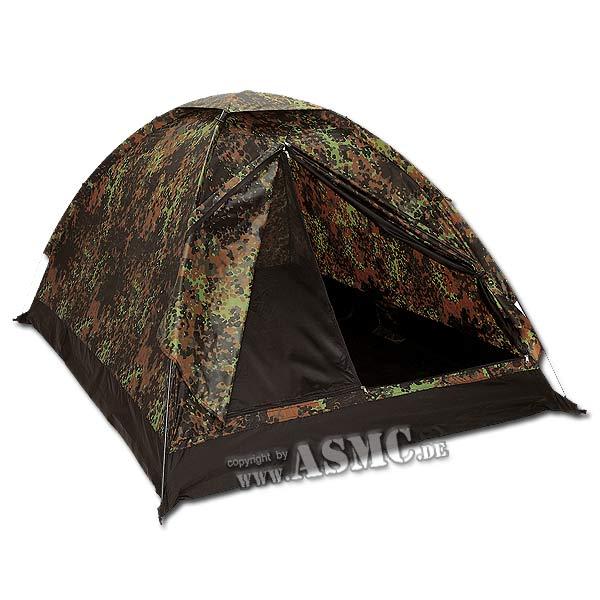 Dome Tent Super 2 Persons flecktarn