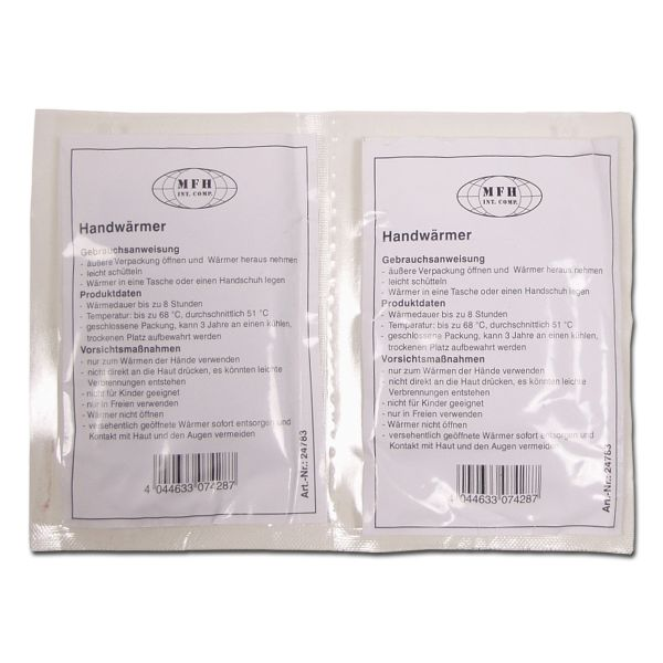 Hand Warmer Double Pack
