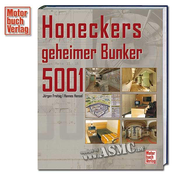 Book Honeckers geheimer Bunker 5001