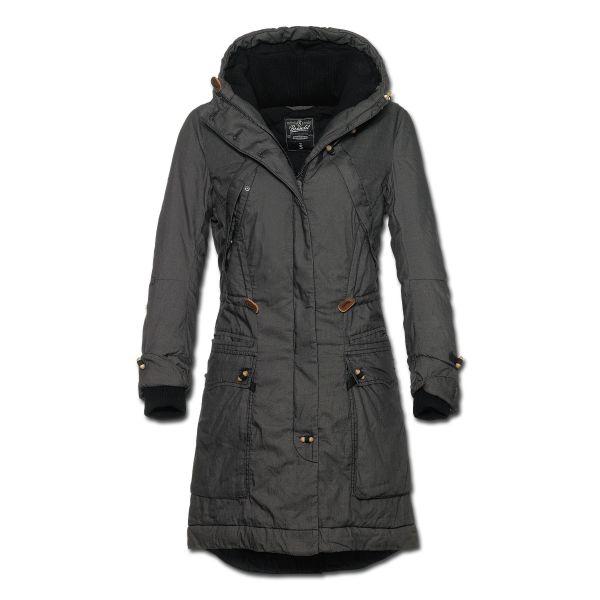 Coat Brandit Ladies Coleen, black