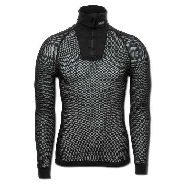 Brynje Zip-Polo Shirt black