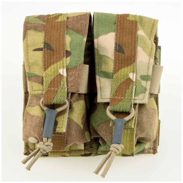 LBX Grenade Pouch Dual Banger Horizontal multicam