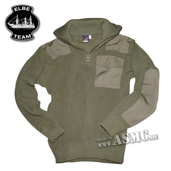 Sweater Troyer Commando olive green