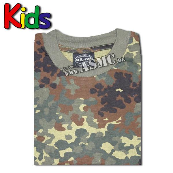 T-Shirt Kids flecktarn
