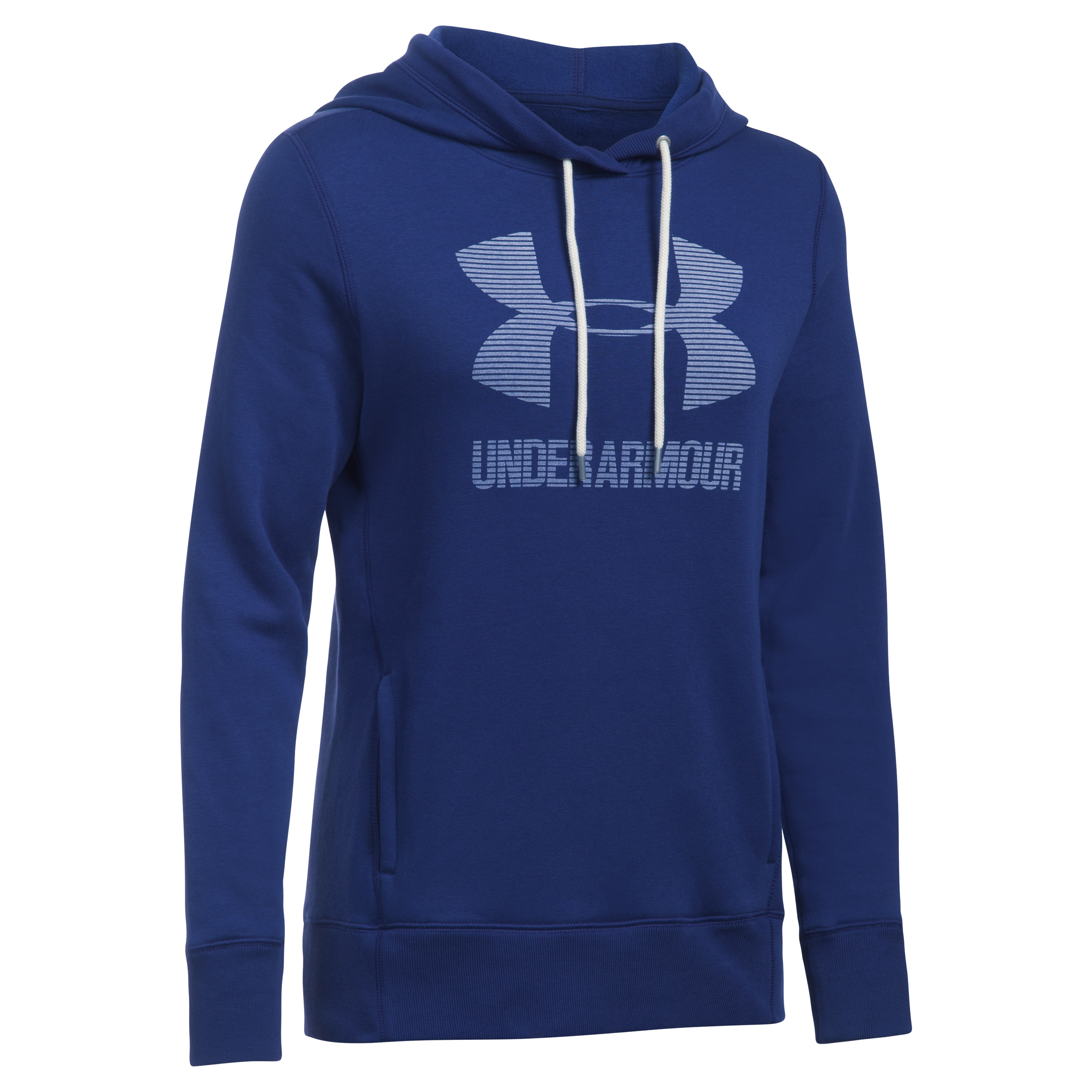 Under Armour Fitness Woman's Hoodie purple