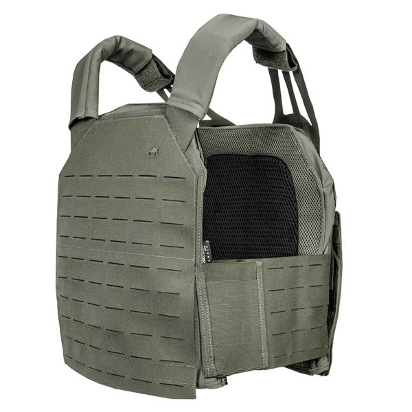Tasmanian Tiger Plate Carrier LC IRR stone gray olive
