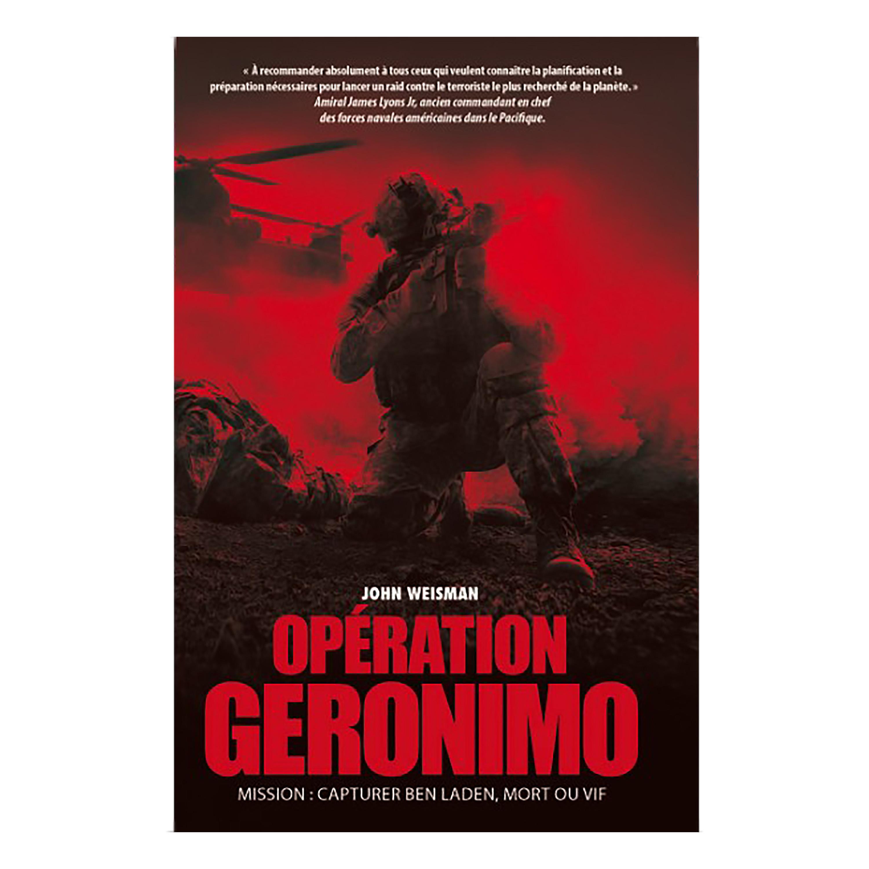 Book Opération Geronimo OT