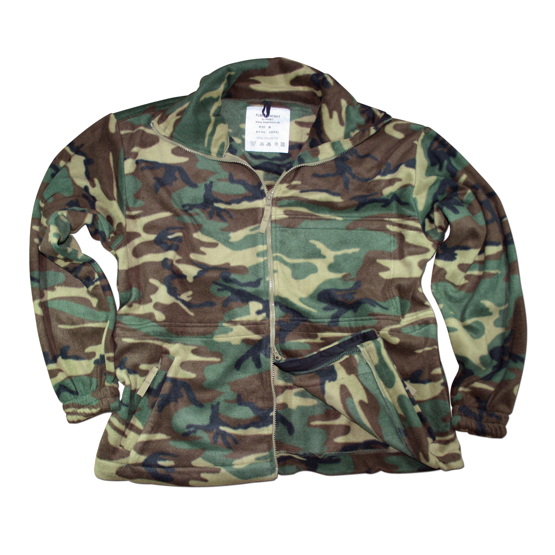 Fleece Jacket MMB woodland