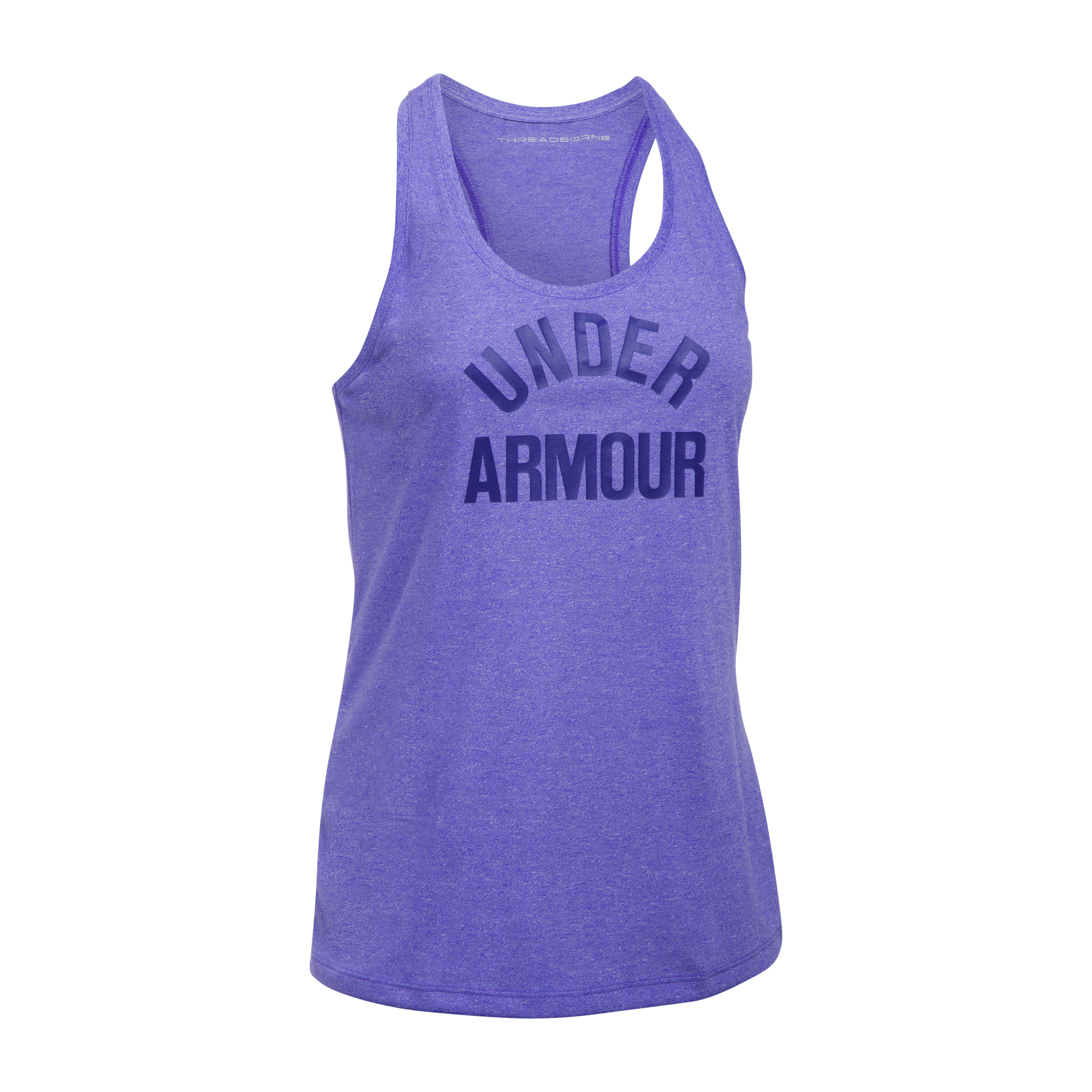 Under Armour Fitness Woman's Threadborne Tank Top purple