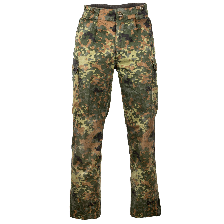 German Army Field Pants Used flecktarn