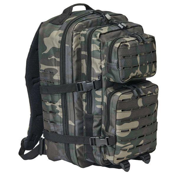 Brandit U.S. Cooper Backpack Laser Cut Large darkcamo