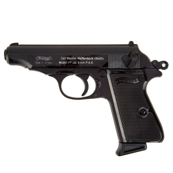 Pistol Walther PP gunmetal-finished