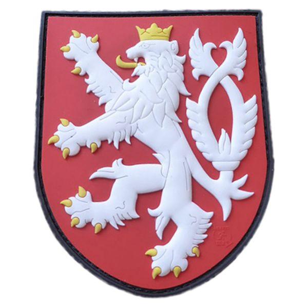 JTG 3D Patch Czech Republic Shield with Lion full color