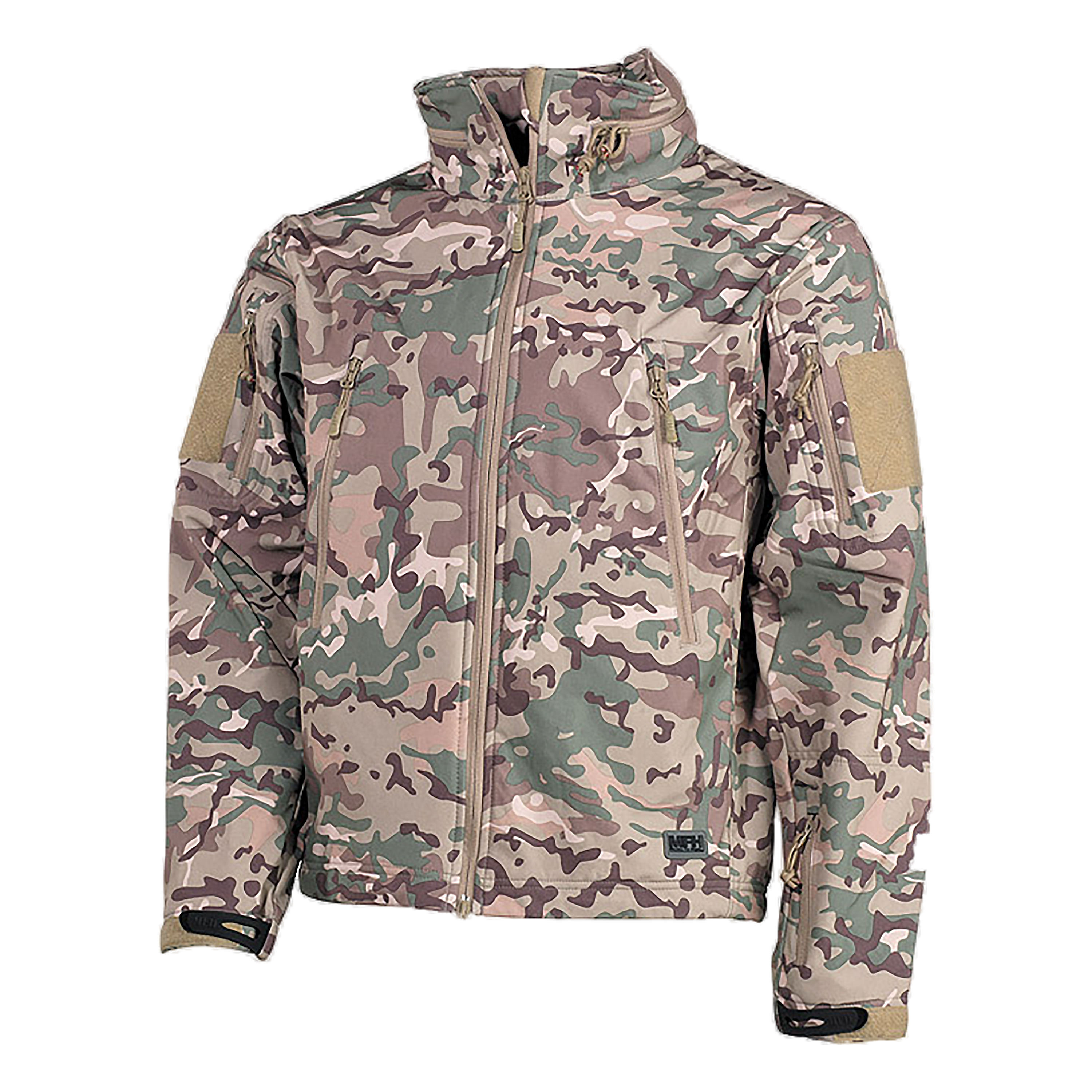 Jacket Softshell Scorpion operation camo
