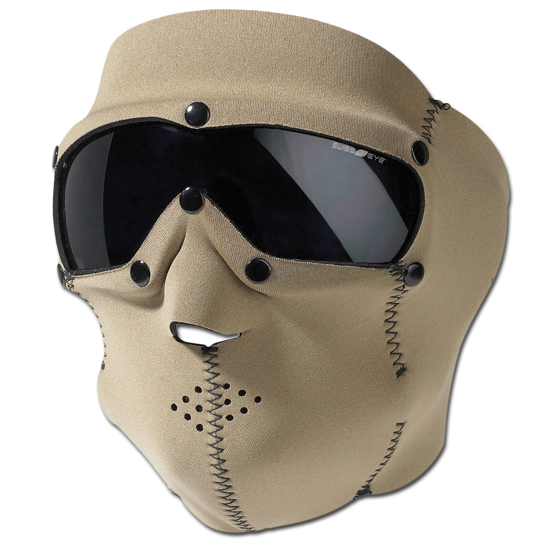 Swiss Eye Neoprene Face Protection Mask Pro coyote